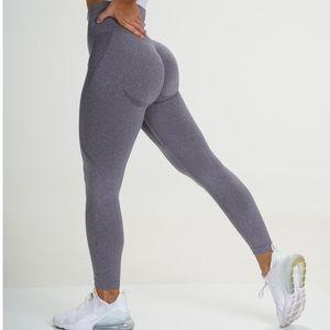 NVGTN Small Grey seamless legging with contour